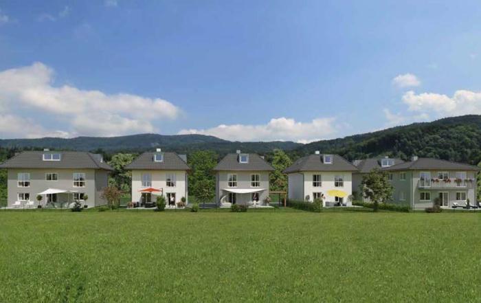 Einfamilienhäuser in Oberalm