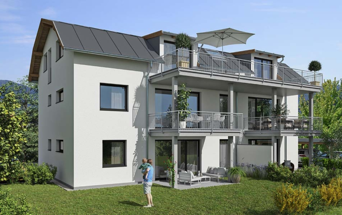 Wohnbau Salzburg - 5 Wohnungen in Wals